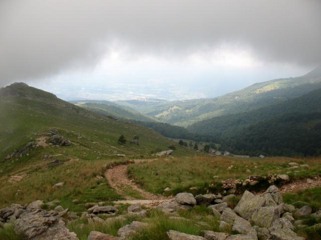 Panorama dall'Alpe Ghiazzetti