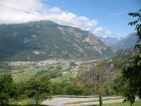 Panorama su Canavese e porte della Valle d'Aosta