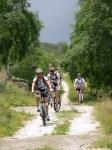 Salita all'Alpe Ghiazzetti - ultimo tratto pedalabile