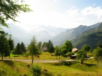 Trovinasse - scorcio sulle porte della Valle d'Aosta