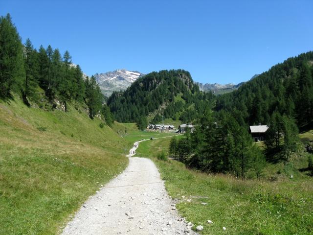Alpe devero - strada per Crampiolo