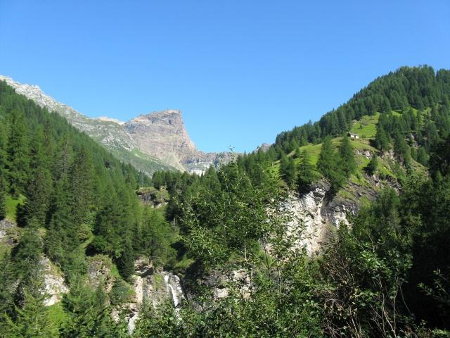 Salita all'alpe Devero - panorama