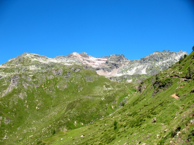 Salita all'Alpe Forno - panorama