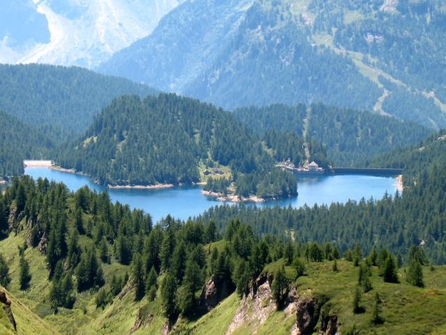 Salita all'Alpe Forno - Lago Devero