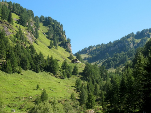 Salita all'alpe Devero - panorama