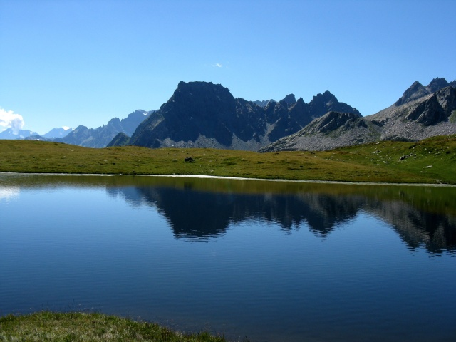 Passaggio nei prati tra l'Alpe Forno e l'Alpe della Satta