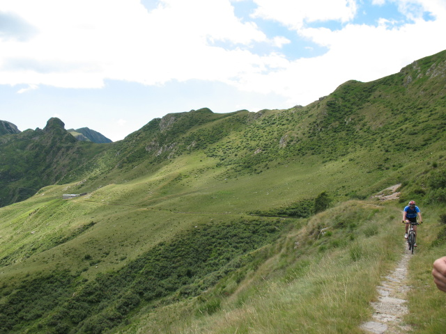 Nei pressi dell'Alpe Albano