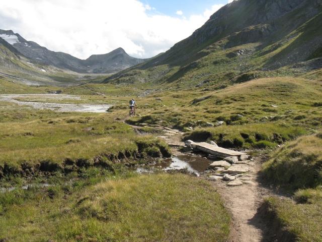 Single-track verso Maighelspass