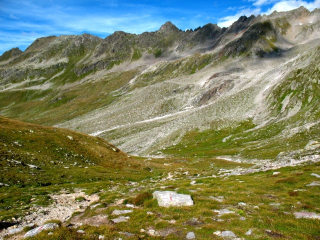 Maighelspass - tratto finale a spinta