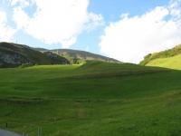 Termine della discesa nei pressi di Andermatt - particolare