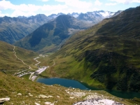 Panoramica su Oberalppass