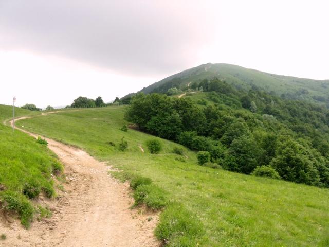 Monte Chiappo dal Monte Rotondo