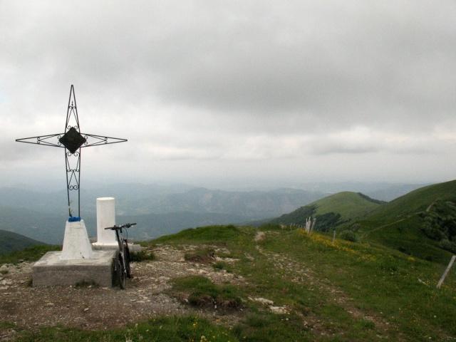 Monte Ebro - vetta