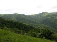 Panorama su una parte dell'anello della Val Curone