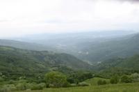 Panorama dall'Ebro sulla vallata