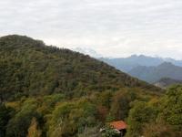 Sterrato verso Alpe Bondale - panorama