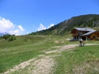 Salita per il Colle di Fontana Fredda superata l'Alpe Glavin