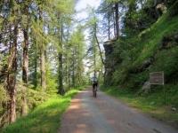 Sterrata della Passeggiata La Magdeleine-Chamois