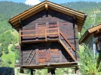 Abitazione tipica della vecchia Blatten
