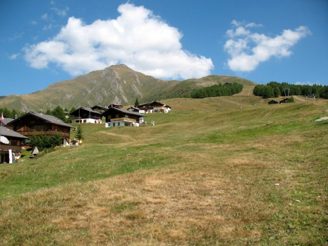 Rosswald - panorama su Fuelhorn - Fleschboden