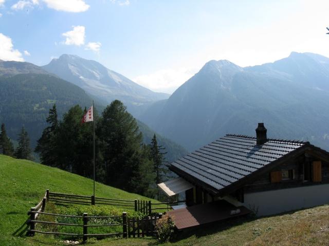 Rosswald - panorama sul Passo del Sempione