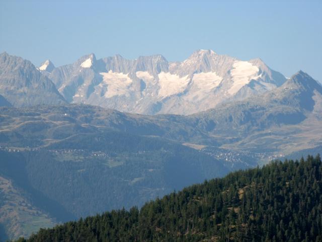 Particolare dell'altopiano dell'Aletsch dalla Nesseltal