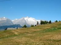 Rosswald - panorama con Fusshorner  e Geisshorn