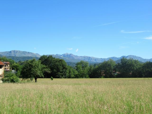 Panorama sui monti del Canavese dalle frazioni di Castellamonte