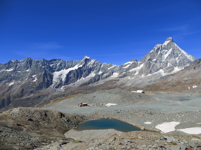 Grandioso panorama su Cervino e Grandes Murailles dal Colle superiore delle Cime Bianche