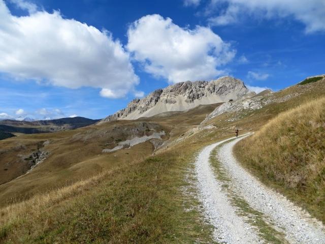 In direzione del Col de Granon