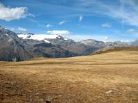Sterrato in direzione Colle di Sollieres - panorama