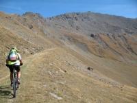 Single-track finale per l'ascesa al Colle di Sollieres