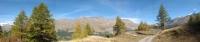Panorama sui rilievi del Parco della Vanoise