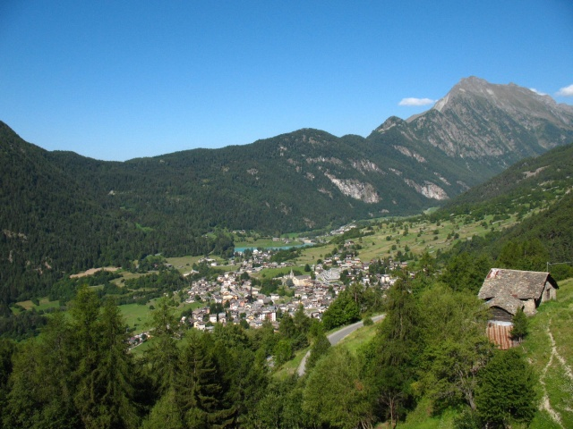 Brusson, panoramica