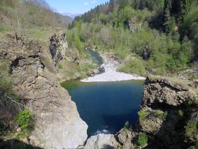 Torrente Melezzo - nei pressi del Ponte di Maglione