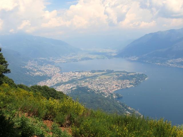 Piano di Magadino, Ascona e le 2 foci nel lago Maggiore del Ticino e della Maggia