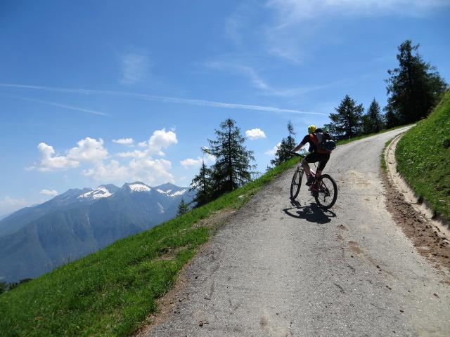 Tratto molto ripido prima dell'Alpe Torcelli