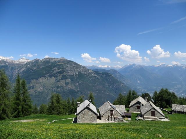 Prime baite dell'Alpe Casalavera