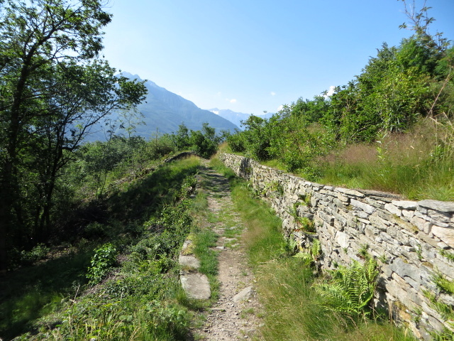 Sentiero Cruppi - Anzuno