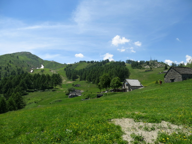 Alpe Casalavera, sullo sfondo il Monte Moncucco
