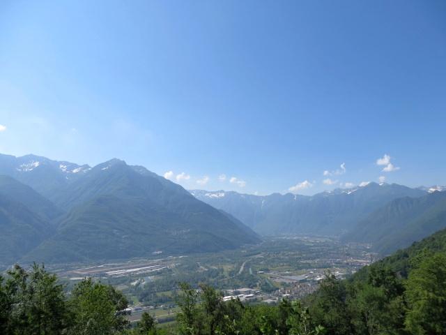 Panorama sulla Val d'Ossola superato Anzuno