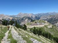 Fort de Lenlon, Fort de Olive e Col Du Granon