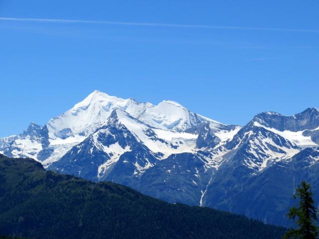 gebidumpass36 - Weisshorn (4.506), Bishorn (4.153), Brunegghorn (3.833), Barrhorn (3.583)