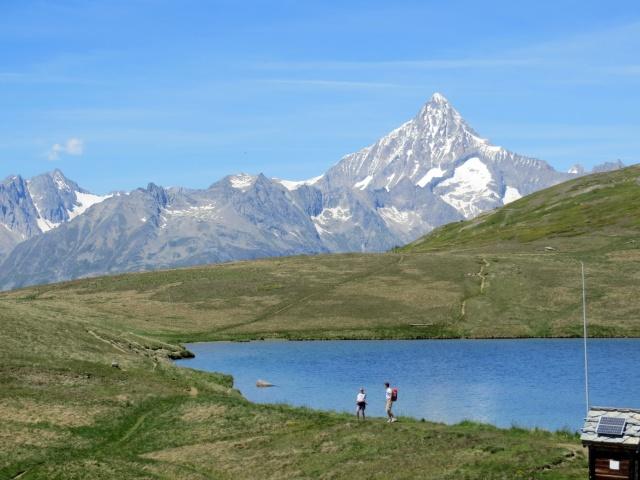 Gebidumsee, sullo sfondo il Bietschhorn (3.934)