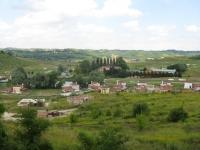 Panorama su colline dell'Astigiano