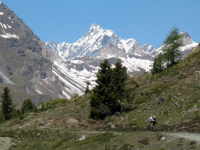 Alpe Saler Inferiore - sullo sfondo il Cervino