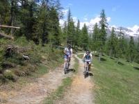 Strada per l'Alpe Mezzan