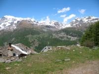 Salita all'Alpe di Nana inferiore - panorama