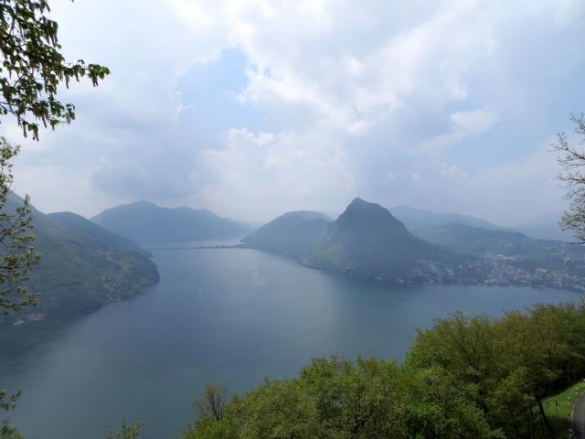 Lago di Lugano, Paradiso e Monte Arbostora