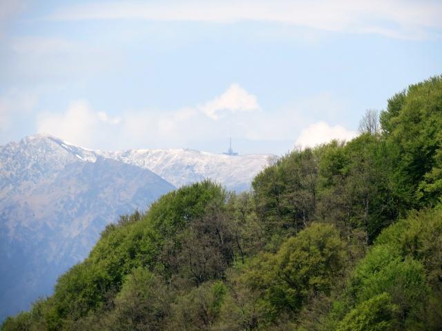 Vetta del Monte Tamaro vista da Brè